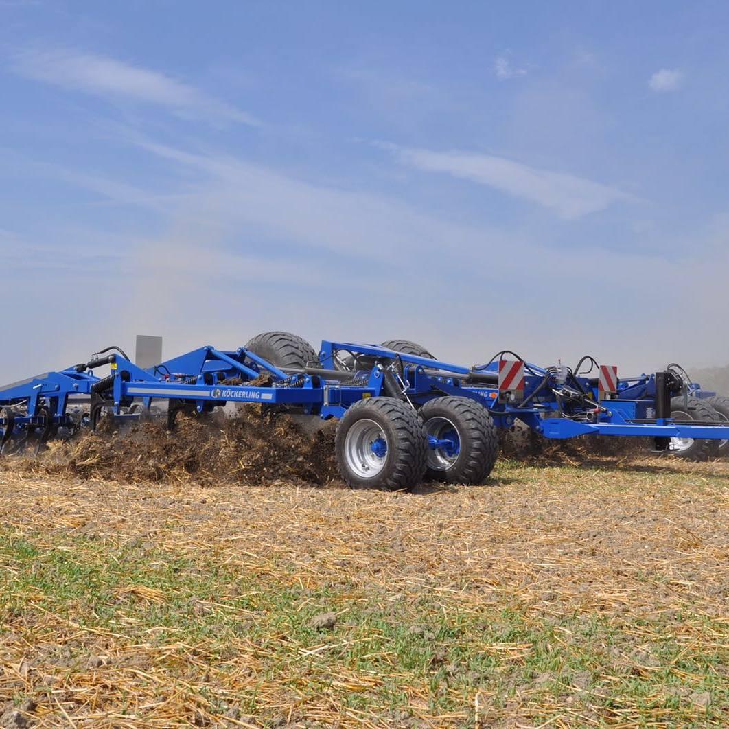 Почвообработка. Лущение почвы.