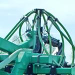 Электросистема контроля засорения семяпроводов