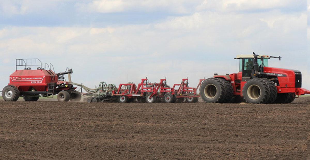 КПК серии FEAT с одновременной предпосевной обработкой почвы и высевом в дисковый сошник