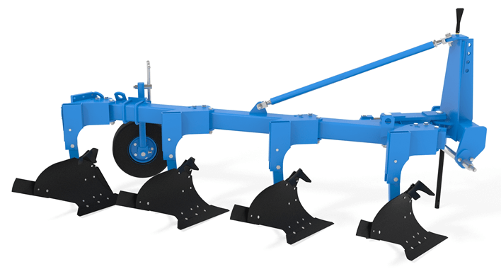 Навесной плуг с регулируемой шириной захвата FINIST ПЛНР-4×40