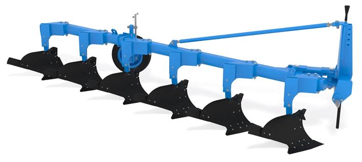 Плуг навесной с регулируемой шириной захвата FINIST ПЛНР-6×40